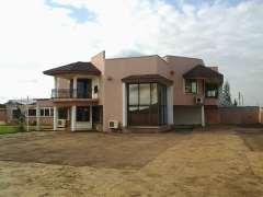 Furnished 4 bedroom on2 plots of land for sale